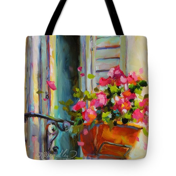 Escape To France Tote Bag