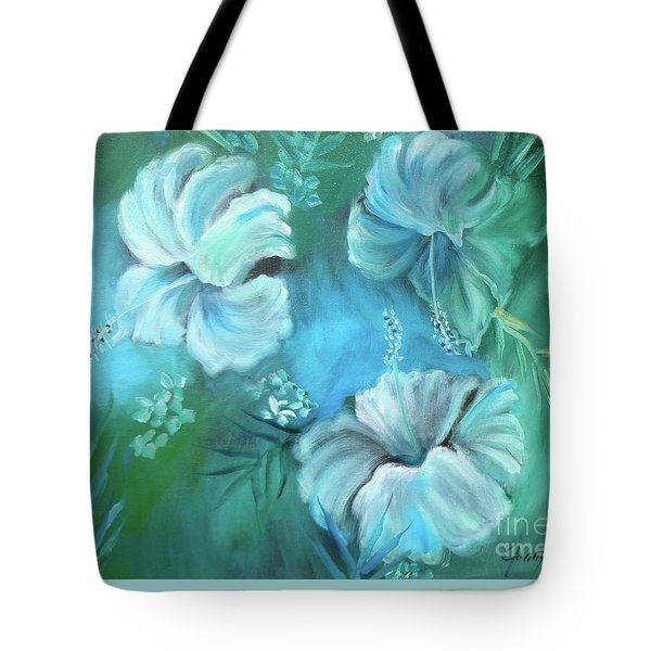 Escape To Serenity Tote Bag by Jenny Lee