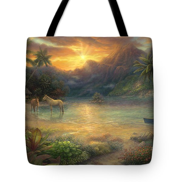 Escape To Tranquility Tote Bag
