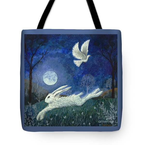 Escape With A Blessing Tote Bag