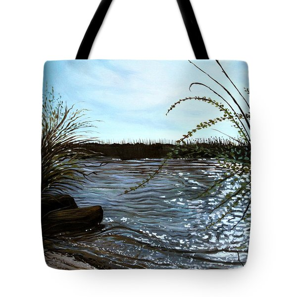 Escape With Me Tote Bag by Elizabeth Robinette Tyndall