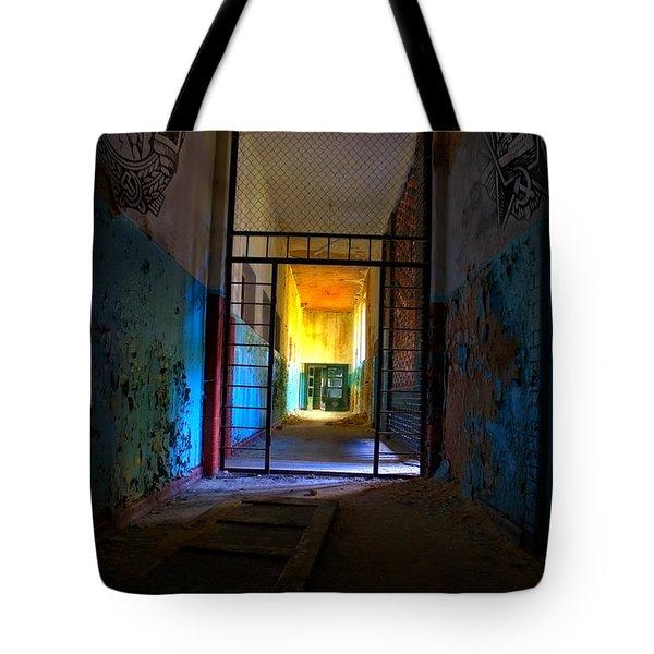 Escaped Tote Bag