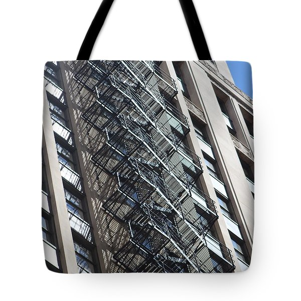 Escaping A Chicago Brownstone Tote Bag