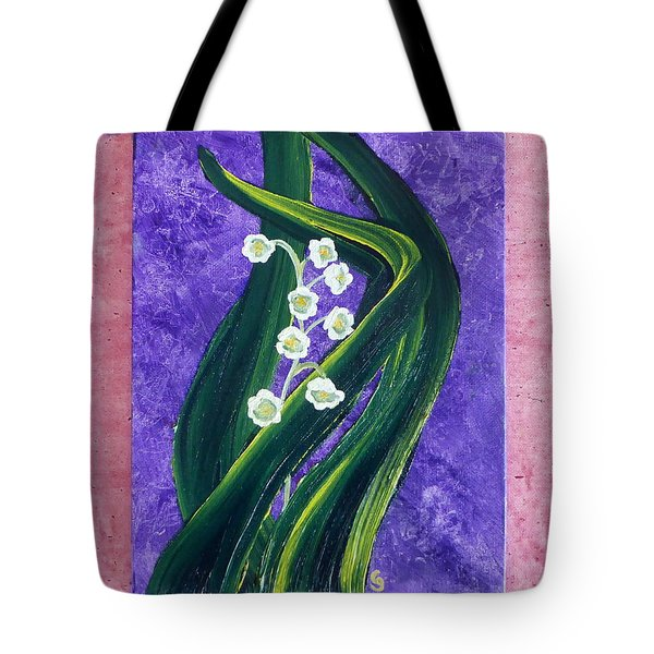 Escaping Winter Lilly Of The Valley Tote Bag