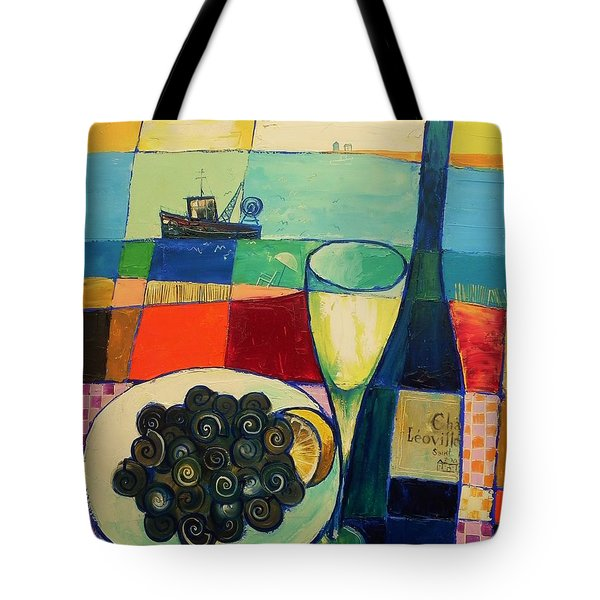Escargot Tote Bag