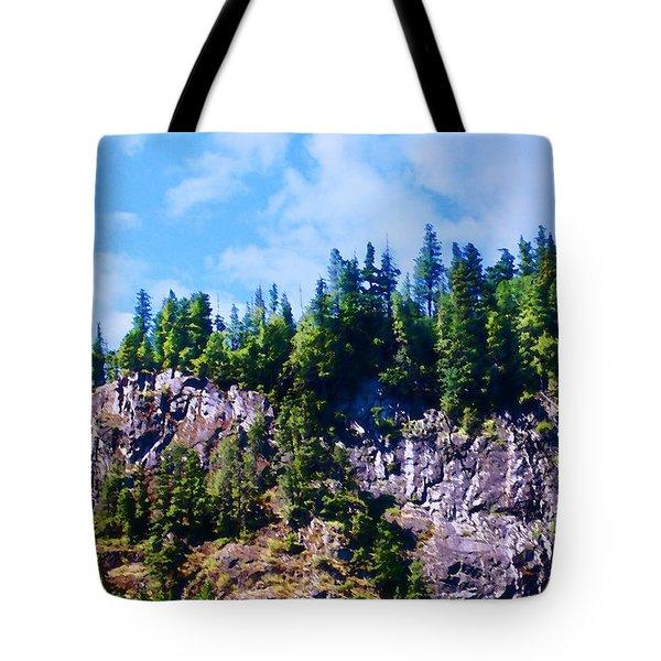 Escarpment 2 Tote Bag by Timothy Bulone