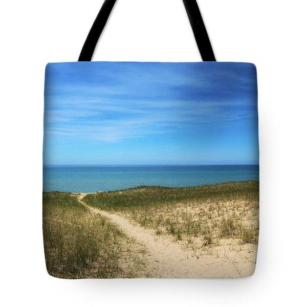 Esch Beach Tote Bag