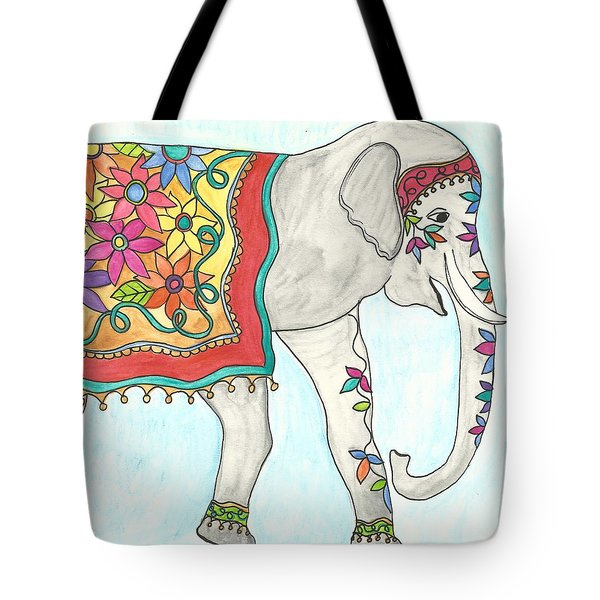 Eshma, Meaning Lucky In English Tote Bag