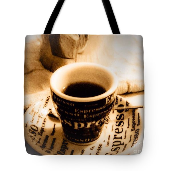 Espresso Anyone Tote Bag