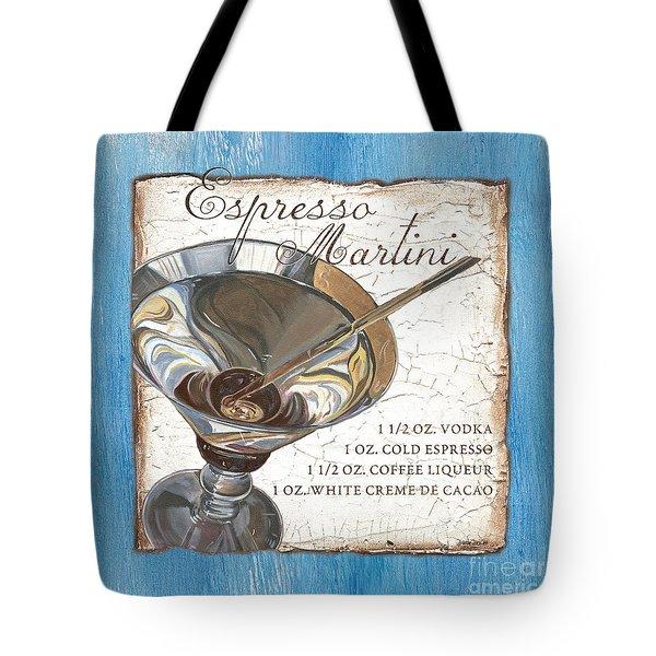 Espresso Martini Tote Bag