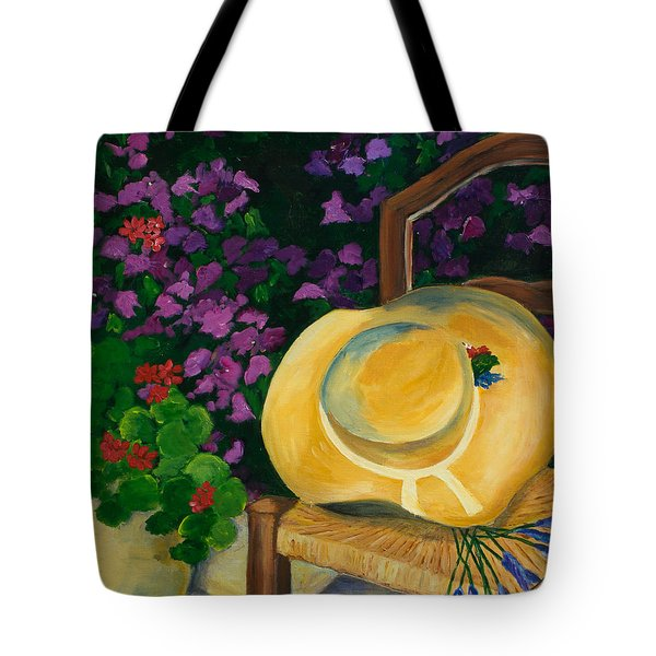 Essaigarden Tote Bag by Elise Palmigiani