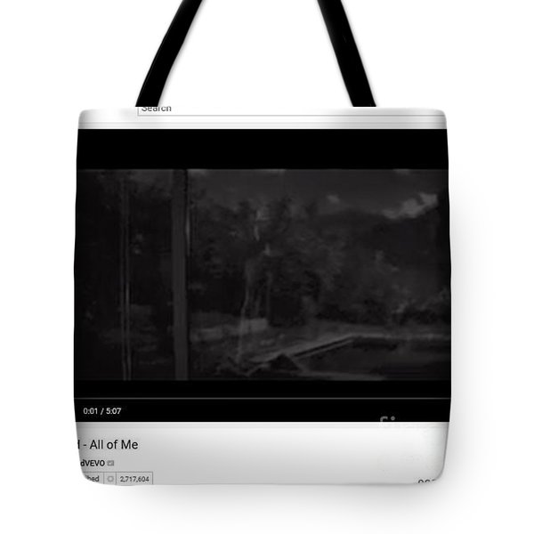 Essence Of All Of Me By John Legend Tote Bag