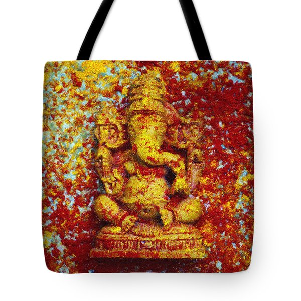 Essence Of Ganesha Tote Bag