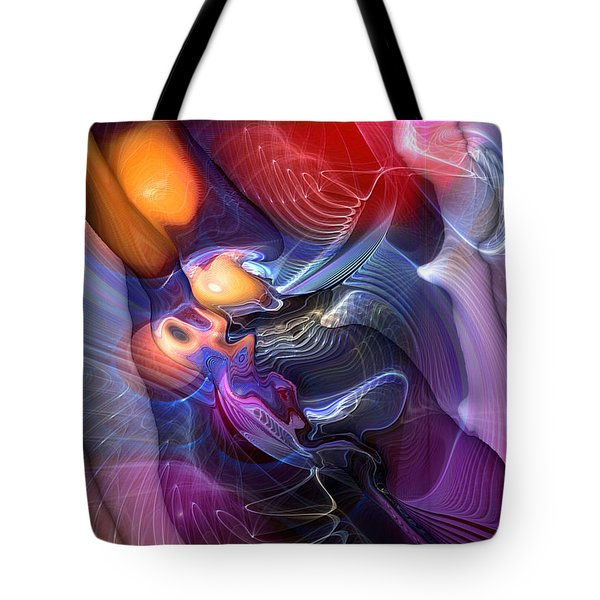 Essence Of Insouciance Tote Bag