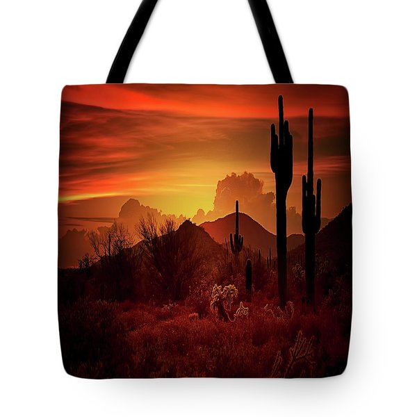 Tote Bag featuring the photograph Essence Of The Southwest - Square  by Saija Lehtonen