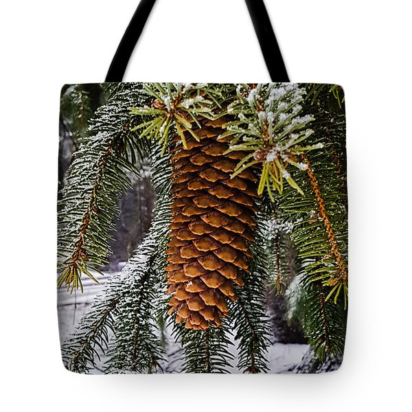 Essence Of Winter  Tote Bag by Bruce Carpenter