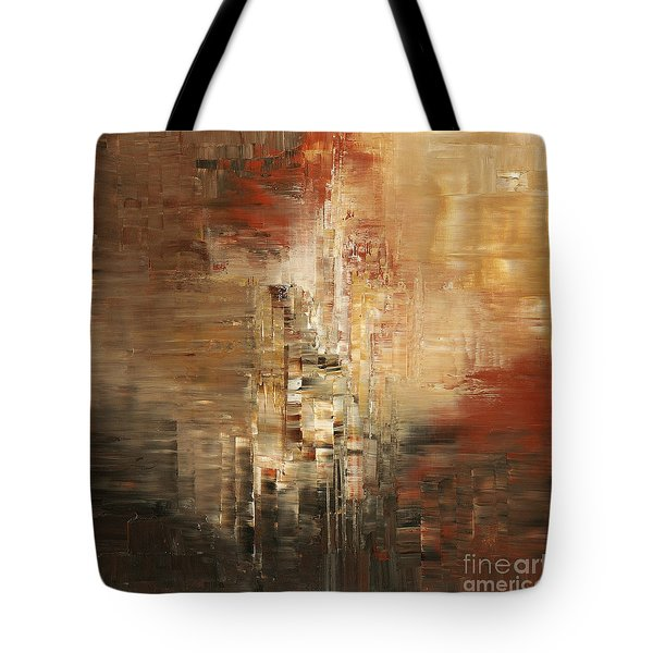 Tote Bag featuring the painting Essential Connection by Tatiana Iliina