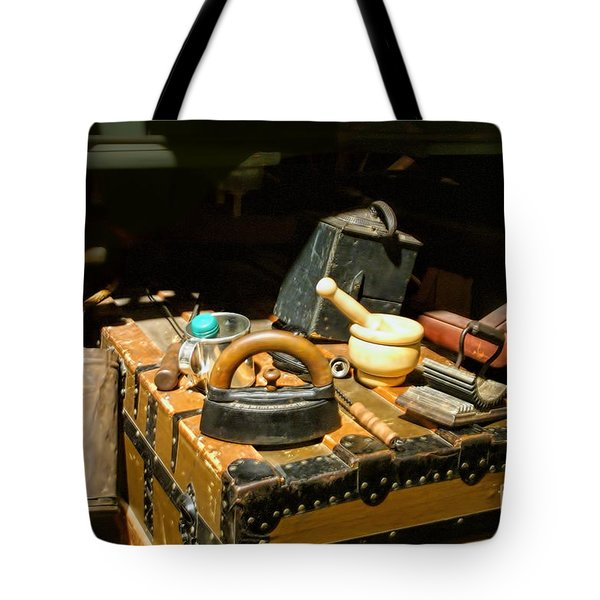Essentials  From Covered Wagon Tote Bag