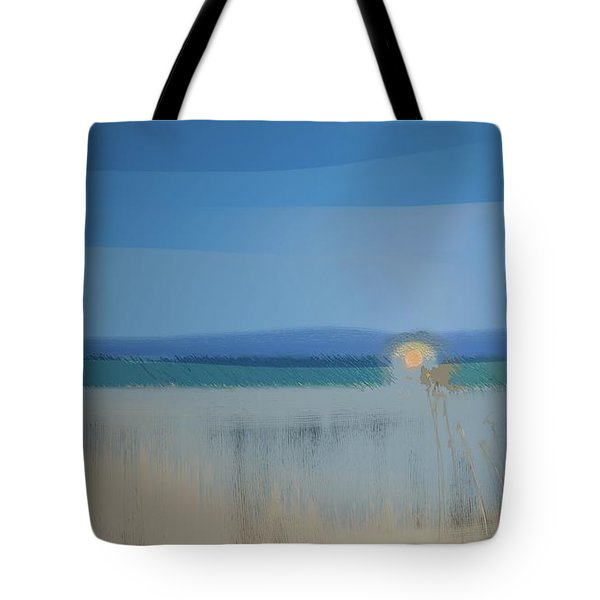 Tote Bag featuring the digital art Essentials by Gina Harrison