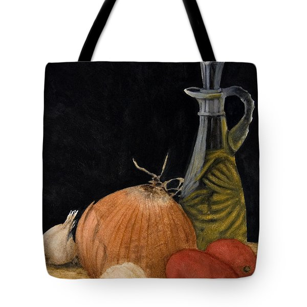 Essentials Of My Cooking Tote Bag