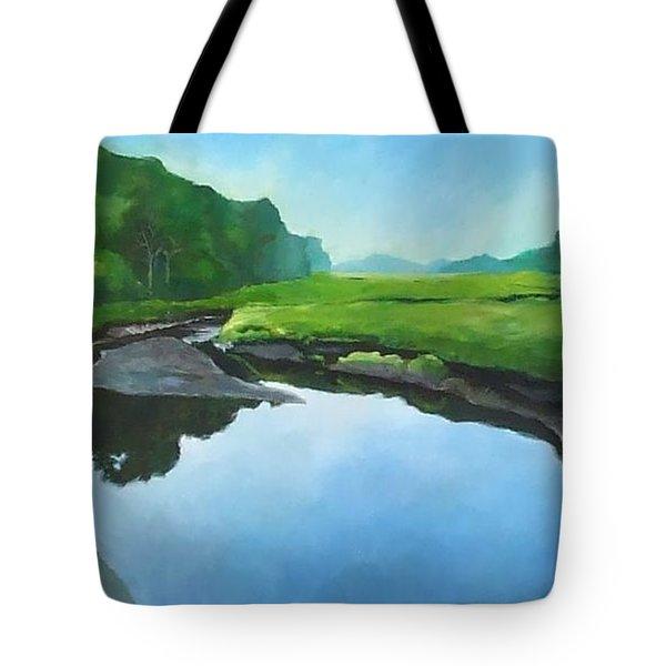 Essex Creek Tote Bag
