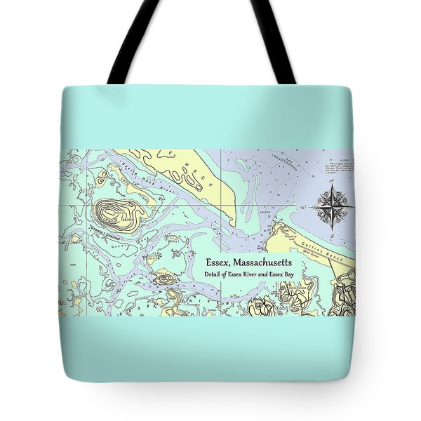 Essex River Detail Tote Bag