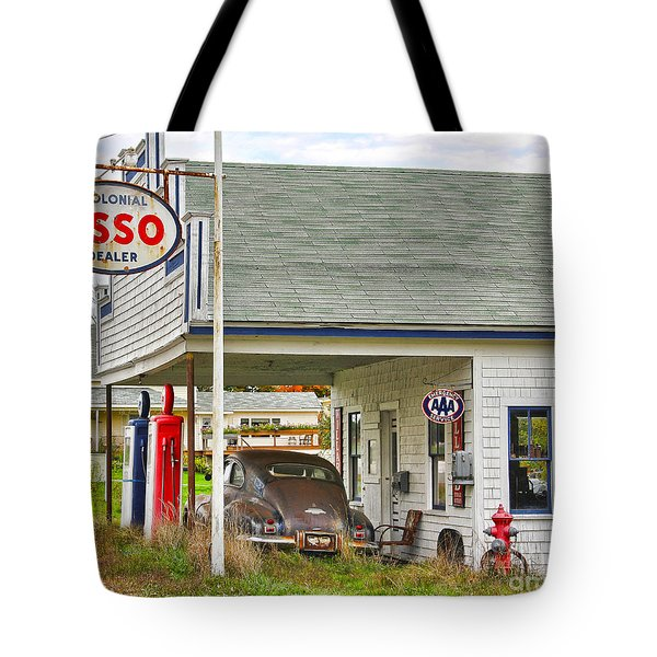 Esso Gas Staion Tote Bag