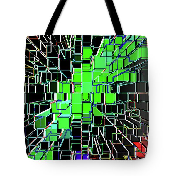 Establishing Connections Tote Bag