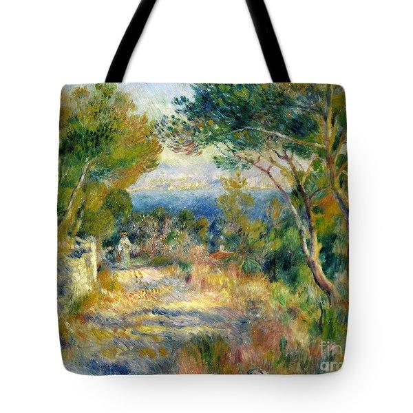 Estaque Tote Bag by Renoir