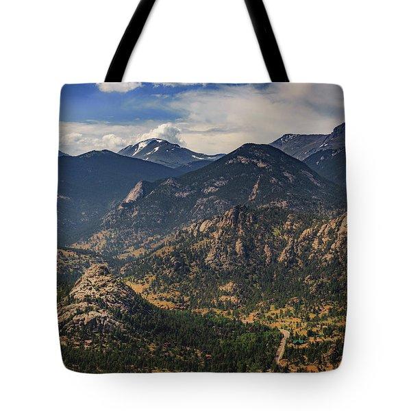 Estes Park Aerial Tote Bag