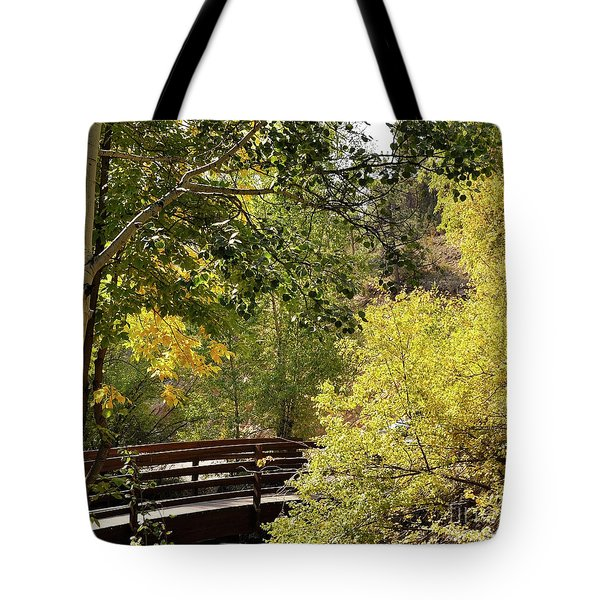 Estes Park Colorado Tote Bag