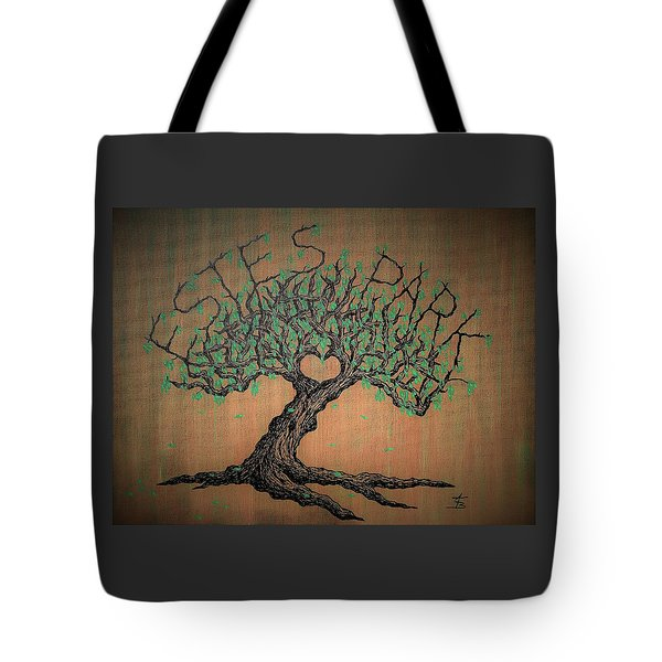 Estes Park Love Tree Tote Bag