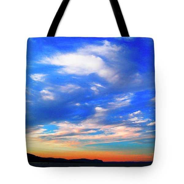 Estuary Skyscape Tote Bag