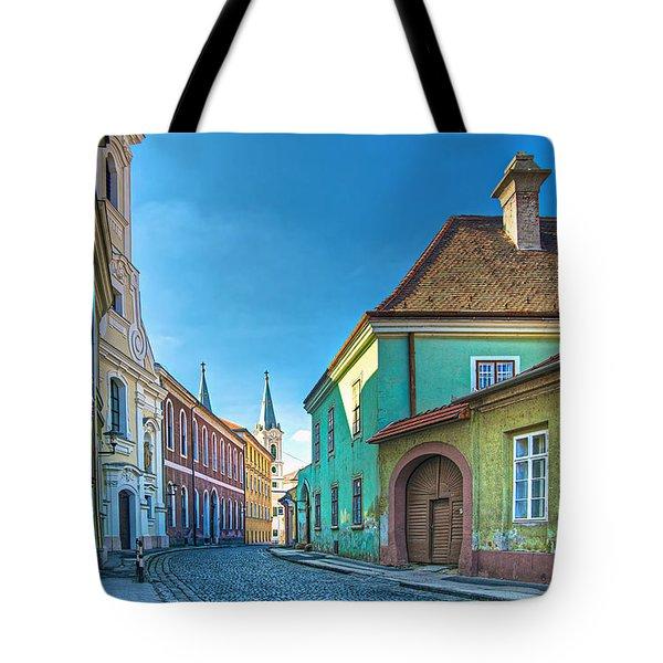 Esztergom Pastels Tote Bag