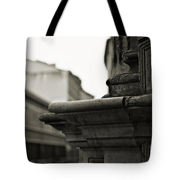Tote Bag featuring the photograph Etched In Stone by Cendrine Marrouat