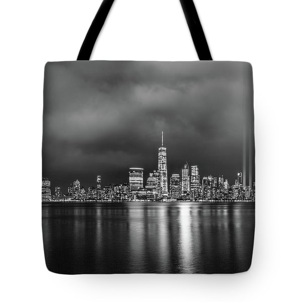 Etched Into The Sky Tote Bag