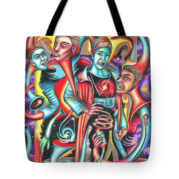 Eternal Discord Of Entwined Temptations Tote Bag