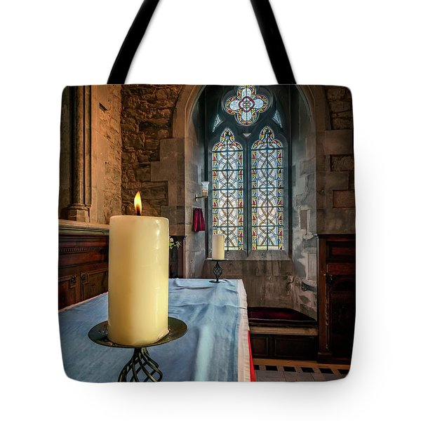 Tote Bag featuring the photograph Eternal Flame by Adrian Evans