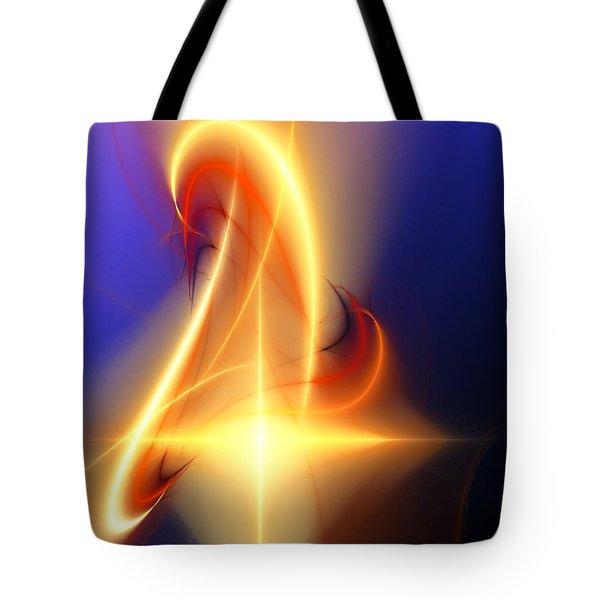 Eternal Flame Tote Bag