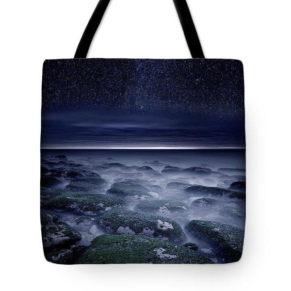 Eternal Horizon Tote Bag by Jorge Maia