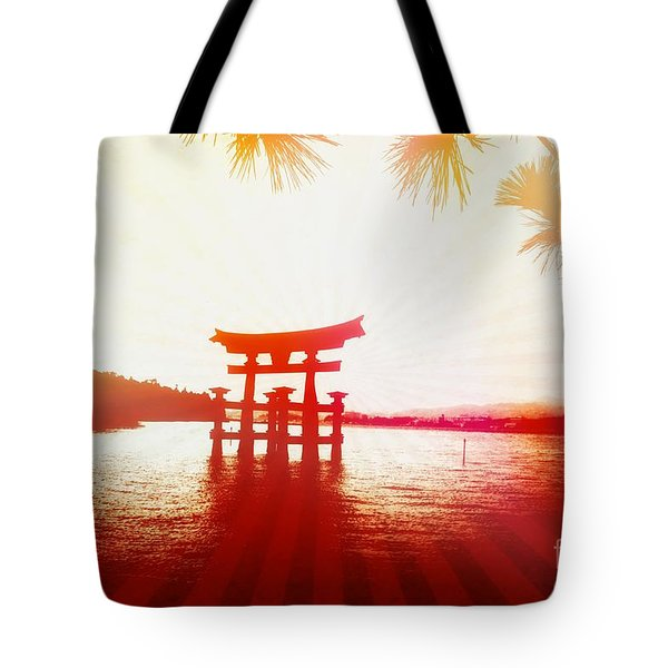 Tote Bag featuring the photograph Eternal Japan by Helge