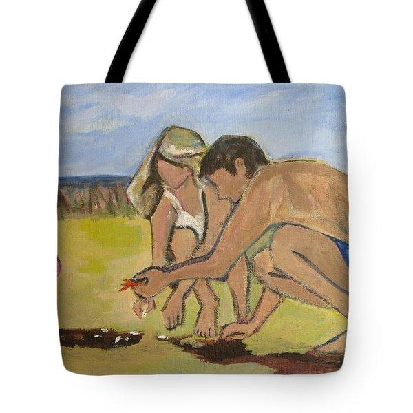 Eternal Offering Tote Bag by Betty Pieper