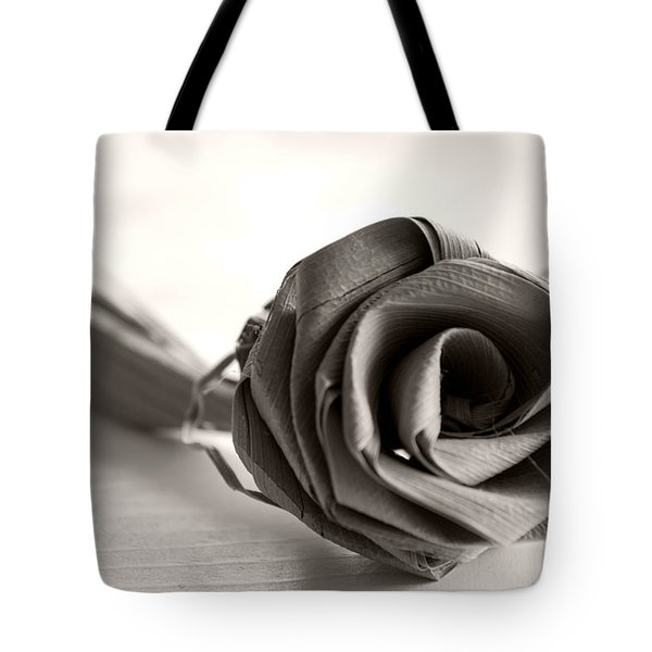 Eternal Rose In Sepia Tote Bag