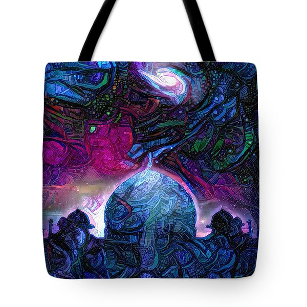Eternal Temple Tote Bag