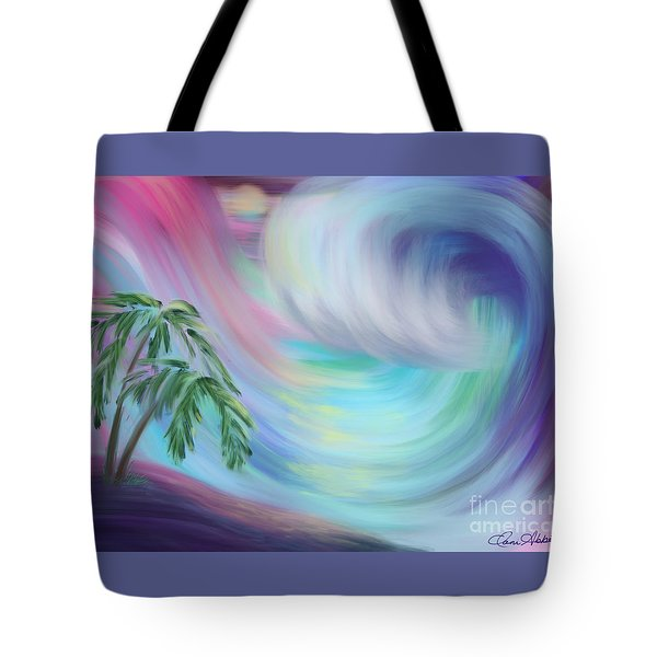 Eternal Wave Tote Bag