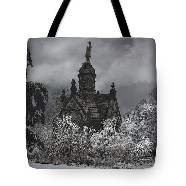 Tote Bag featuring the digital art Eternal Winter by Chris Lord