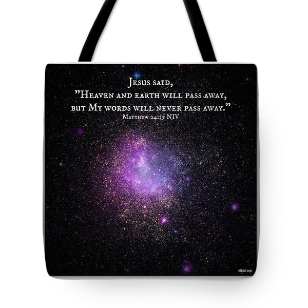 Eternal Word Of God Tote Bag