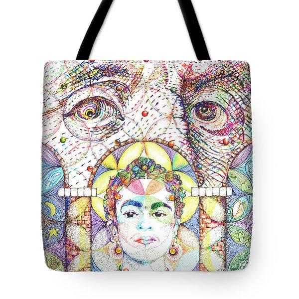 Eternidad- Sombra De Arreguin Tote Bag