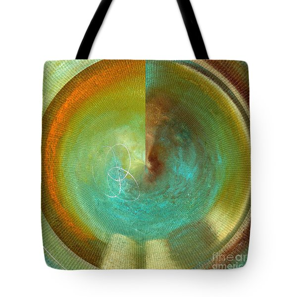 Eternity Polar Effect Tote Bag by Saribelle Rodriguez