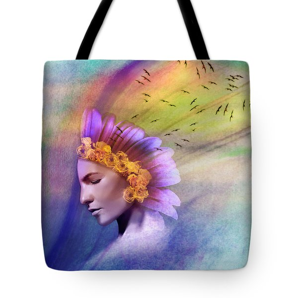 Ether Tote Bag by Scott Meyer